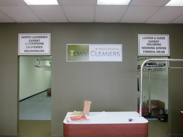 Town Cleaners List of Services